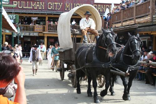 Pullman-City – Europas größte Wild-West-Stadt
